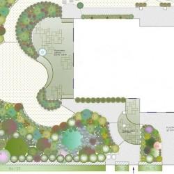 Проект<br/>озеленения участка