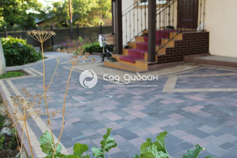 Сад Дизайн. Выполненные объекты