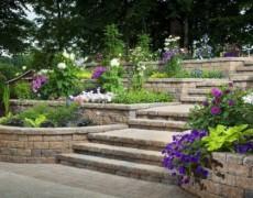 Многоуровневые клумбы – идеи для сада