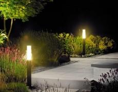Как спланировать освещение на участке и какие фонари подобрать