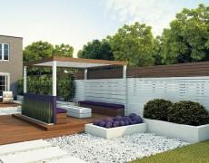 Современный стиль в саду: идеи для вдохновения