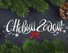С наступающими Новым годом и Рождеством!