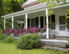 Варианты оформления террас в саду
