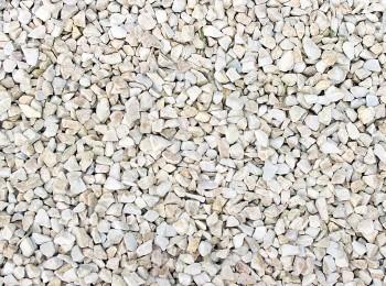 Декоративный щебень Белая Марианна 8-16 мм
