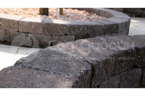 Плитка садовая для клумб Трапеция