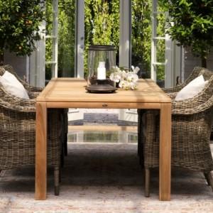 Садовая мебель из искусственного ротанга (Швеция)
