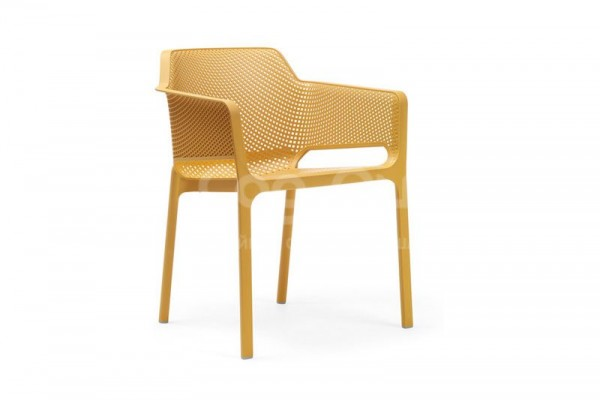 Пластиковая мебель (Италия) Кресло Net