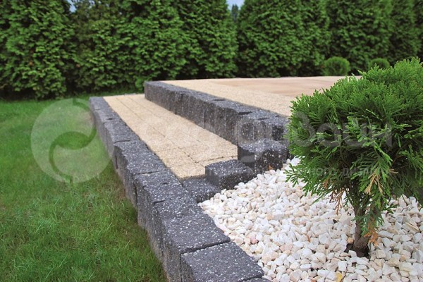 Бордюры и столбики Столбик садовый SPLIT 45см