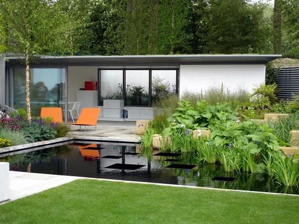 Дом и сад в современном стиле