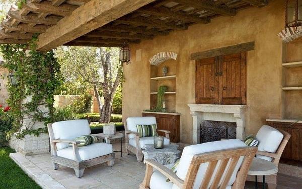 Садовая мебель в средиземноморском стиле
